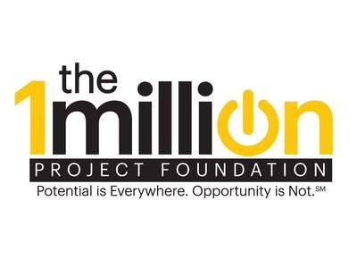 The 1Million Project Foundation will help 1 million high school students who do not have reliable Internet access at home reach their full potential by giving them mobile devices and 10 GB of free high-speed Internet access (powered by Sprint) per month.
