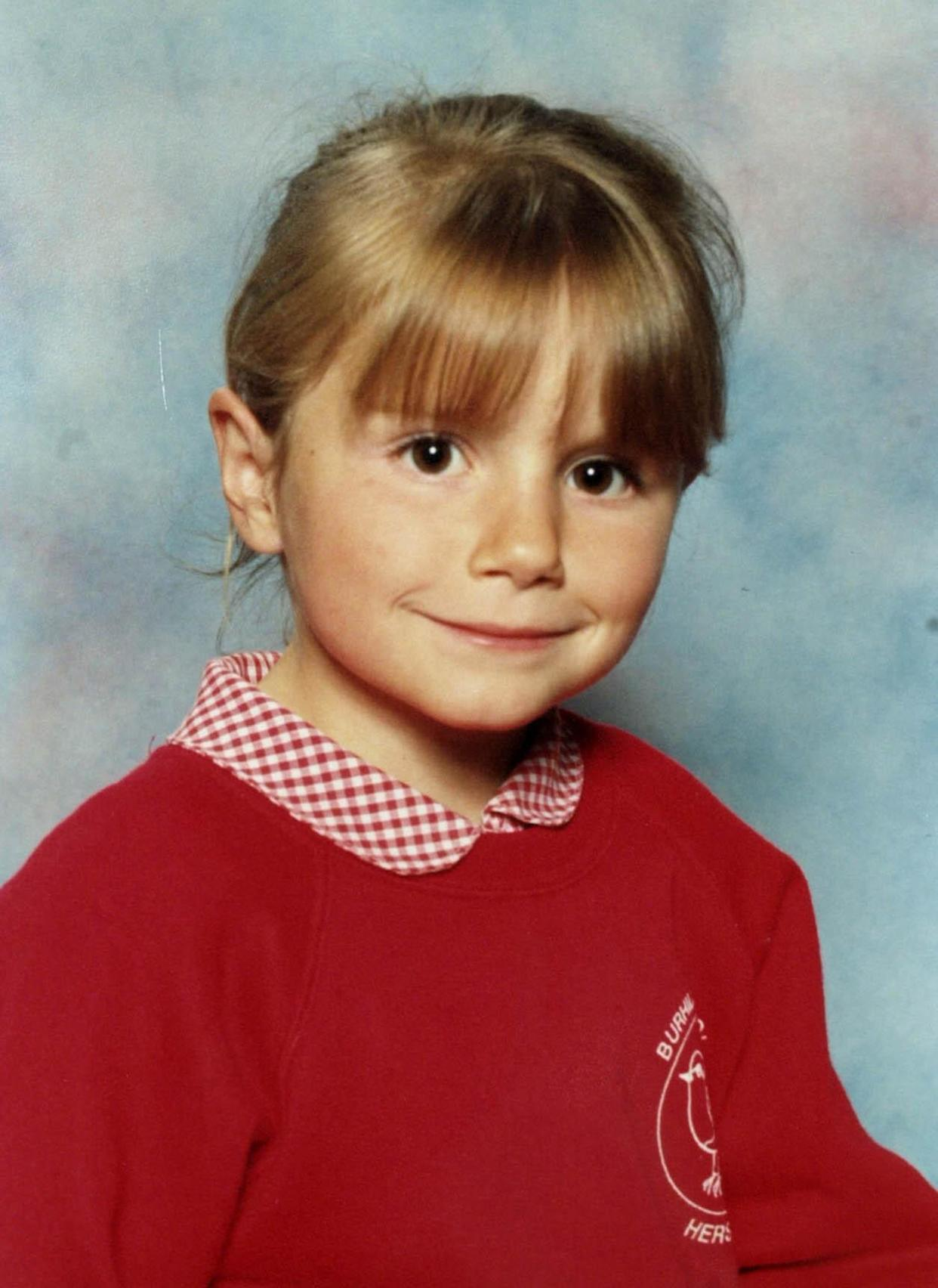 Sarah Payne was eight when she was murdered. (PA)