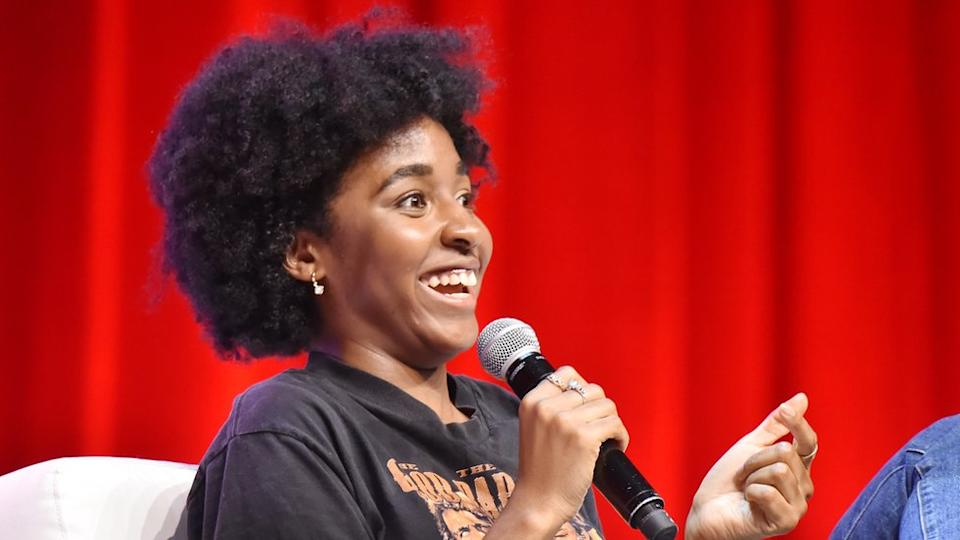 US comedian Ayo Edebiri has seen live performances cease