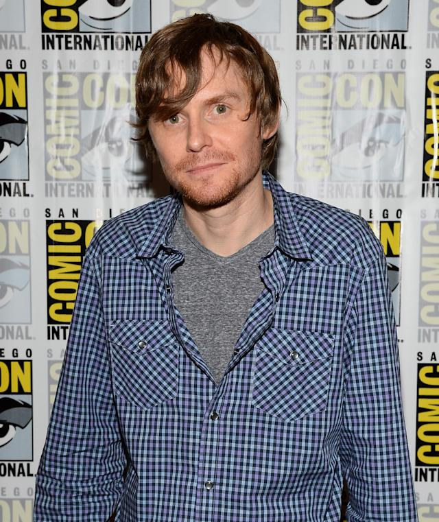 "Executive producer Jed Whedon attends ""Marvel's Agents Of S.H.I.E.L.D."" Press Line during Comic-Con International 2013 at Hilton San Diego Bayfront Hotel on July 19, 2013 in San Diego, California."