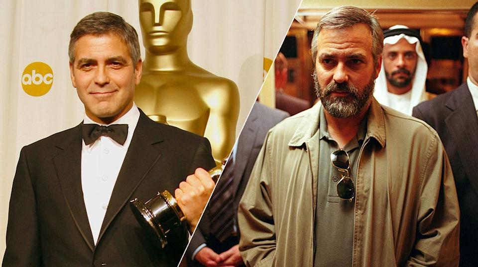 The Cloonster piled on the pounds and won an Oscar for his efforts.