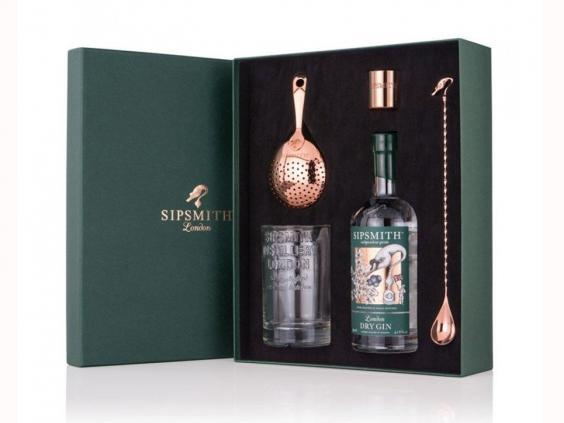 This martini making kit contains all the essentials for perfecting your cocktails every time (Sipsmith)