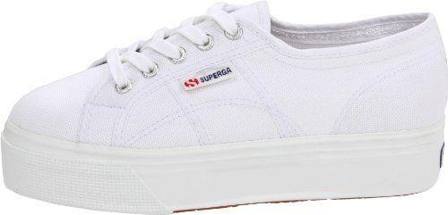 """<p><strong>Superga</strong></p><p>amazon.com</p><p><strong>$50.18</strong></p><p><a href=""""https://www.amazon.com/dp/B005OBB1Y4?tag=syn-yahoo-20&ascsubtag=%5Bartid%7C2141.g.36201802%5Bsrc%7Cyahoo-us"""" rel=""""nofollow noopener"""" target=""""_blank"""" data-ylk=""""slk:Shop Now"""" class=""""link rapid-noclick-resp"""">Shop Now</a></p><p>For a pair of sneakers that make even the most mundane errand feel glam, Superga's platforms are a no-brainer. </p><p>Kate Middleton is a huge fan of <a href=""""https://www.womenshealthmag.com/style/a19995307/kate-middleton-comfy-sneakers/"""" rel=""""nofollow noopener"""" target=""""_blank"""" data-ylk=""""slk:Supergra's traditional pair"""" class=""""link rapid-noclick-resp"""">Supergra's traditional pair</a>, so you know the brand has the royal seal of approval, too.</p>"""