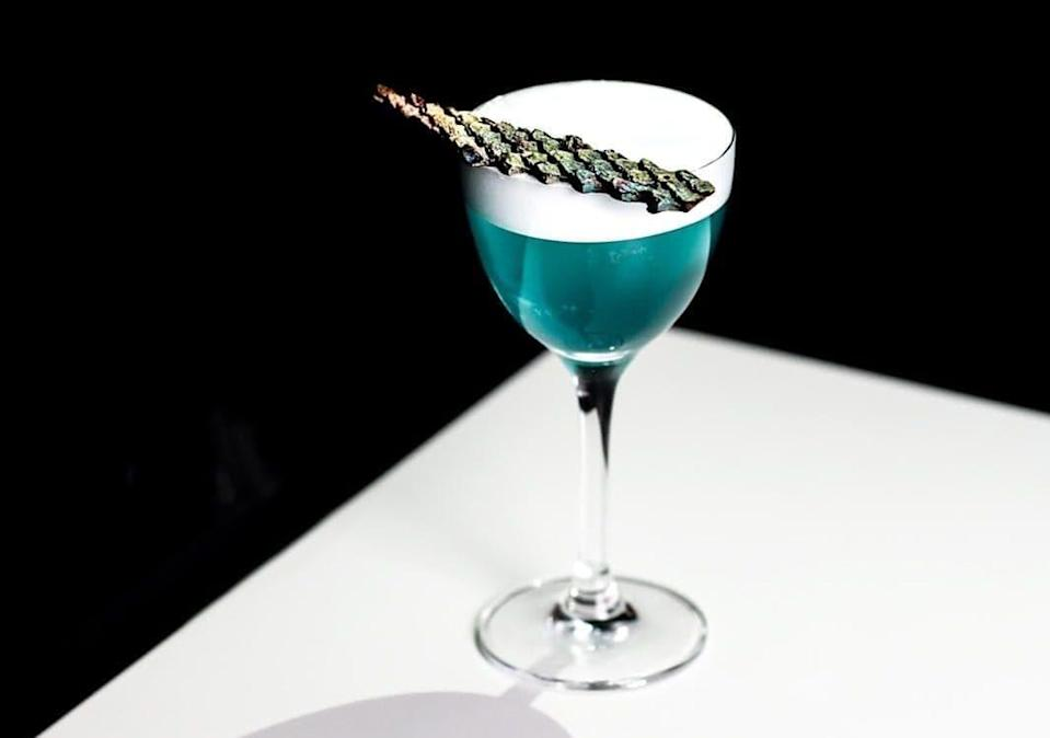 Cocktails at Lab 22 always come with a science-twist