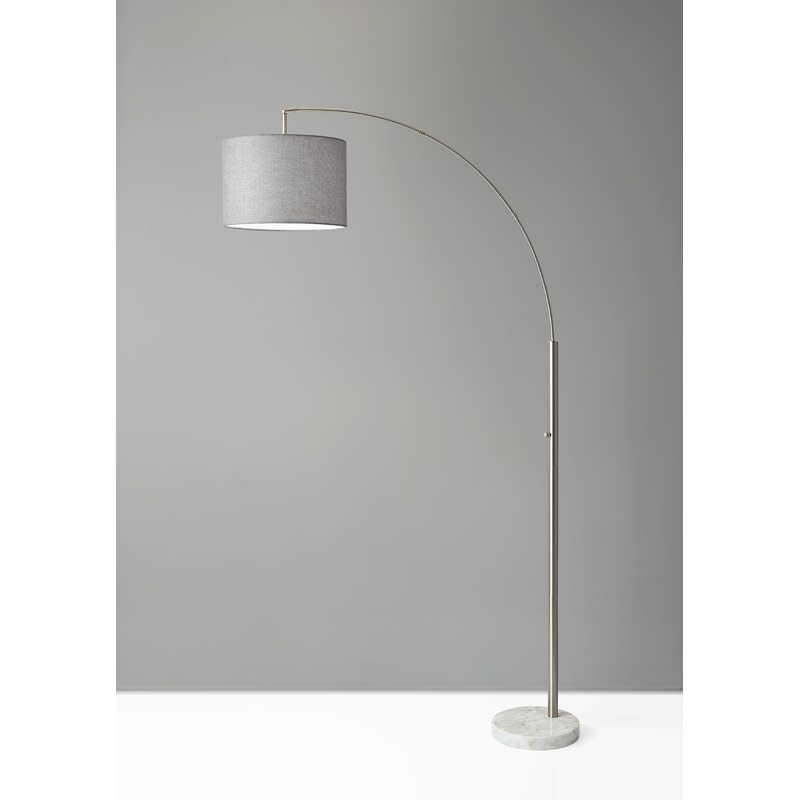 """Matlock 74"""" Arched Floor Lamp (Credit: All Modern)"""