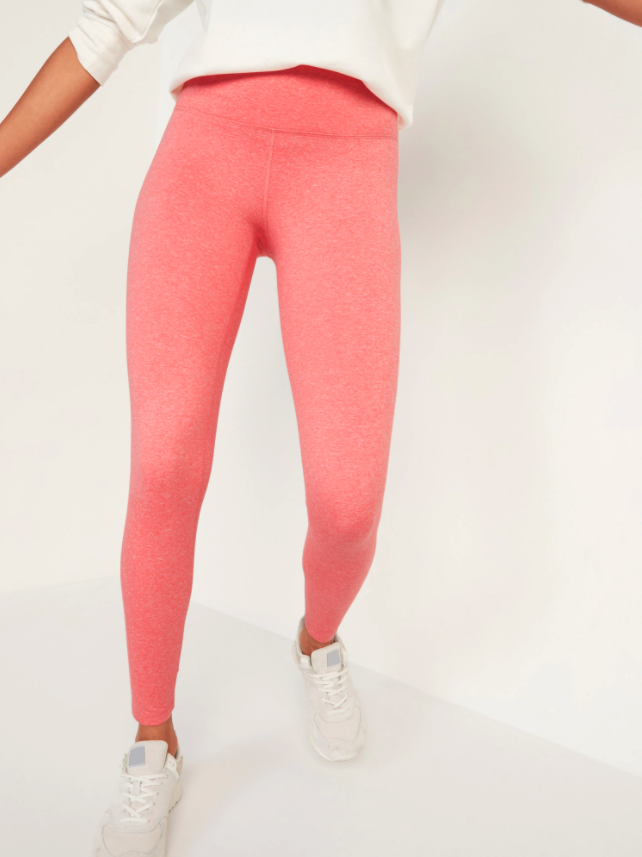 High-Waisted Elevate CozeCore Leggings. Image via Old Navy.