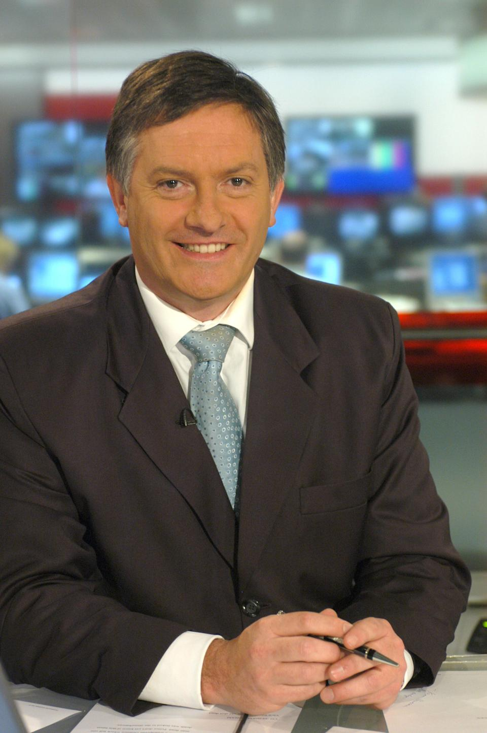 Simon McCoy pictured in 2005 (Photo: Jeff Overs via Getty Images)