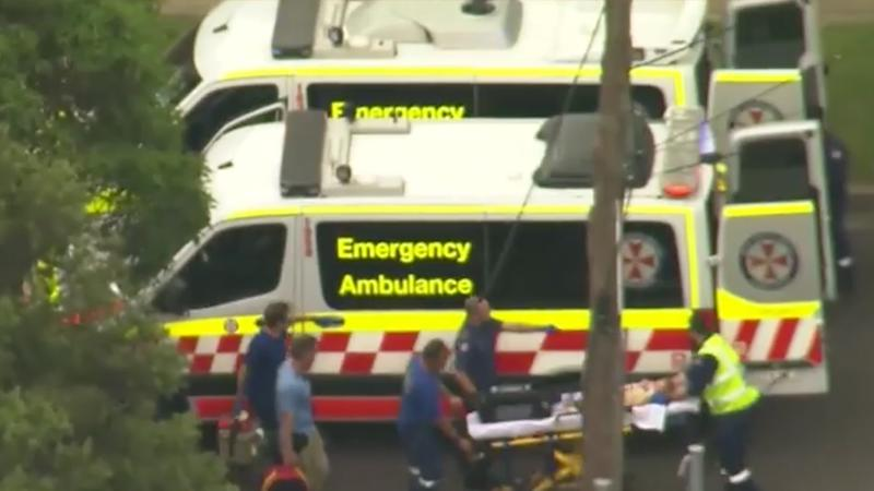 A toddler was seriously injured in Sydney's Inner West on Friday afternoon. Source: Nine News