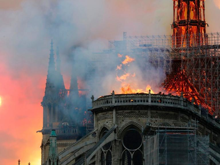 """Donald Trump has weighed in with some advice for Parisian firefighters battling a blaze at the Notre Dame cathedral.""""So horrible to watch the massive fire at Notre Dame Cathedral in Paris. Perhaps flying water tankers could be used to put it out. Must act quickly!"""" Mr Trump tweeted.> So horrible to watch the massive fire at Notre Dame Cathedral in Paris. Perhaps flying water tankers could be used to put it out. Must act quickly!> > — Donald J. Trump (@realDonaldTrump) > > April 15, 2019"""