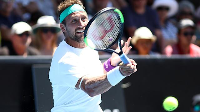 Tennys Sandgren secured the Auckland Open crown for his first ATP World Tour title.