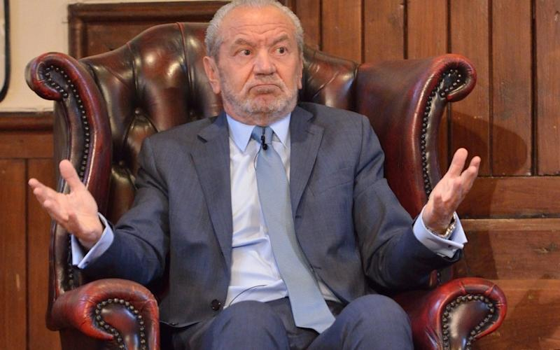 Lord Sugar revealed that he had secured one of the estimated 30 seats on an Emirates flight from London to Sydney this week. - Chris Williamson