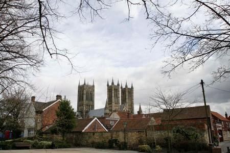FILE PHOTO: General view of Lincoln Cathedral