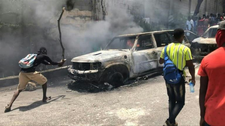 Haitians 'appalled' at president's assassination