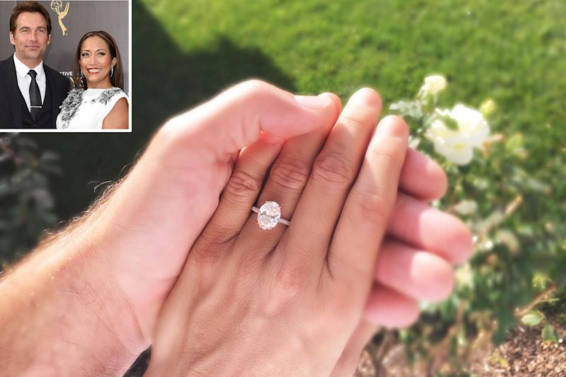 Carrie Ann Inaba Wedding.All The Details On Carrie Ann Inaba S Gorgeous Engagement Ring From