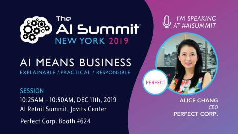 Perfect Corp. to Debut 'Beauty AI Solutions' at the AI Summit New York