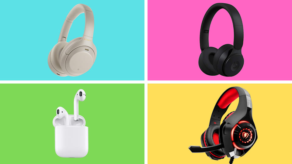 The moment has come to scoop up your dream headphones at an awesome price. (Photos: Yahoo Life)