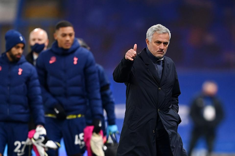 Jose Mourinho's work with Spurs this season has been different from his work with other big clubs, but the results have been there all the same. (Photo by Darren Walsh/Chelsea FC via Getty Images)