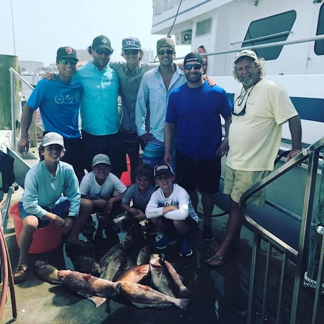 "<p>It looks like a fishing trip was in order for the country star and his pals. (Photo: <a href=""https://www.instagram.com/p/BUsRbB2DbKO/?hl=en"" rel=""nofollow noopener"" target=""_blank"" data-ylk=""slk:Luke Bryan via Instagram"" class=""link rapid-noclick-resp"">Luke Bryan via Instagram</a>)<br><br></p>"