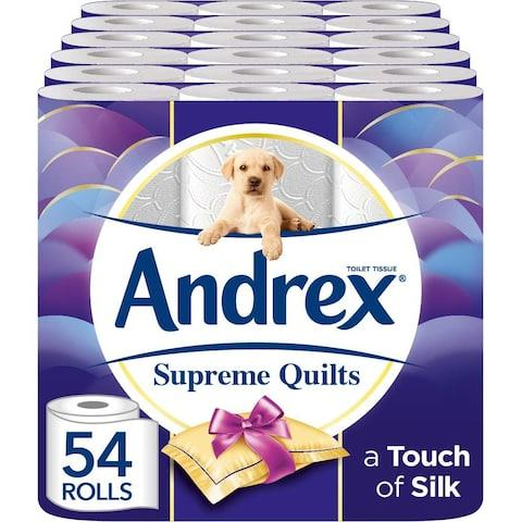 Andrex Supreme Quilts Toilet Rolls