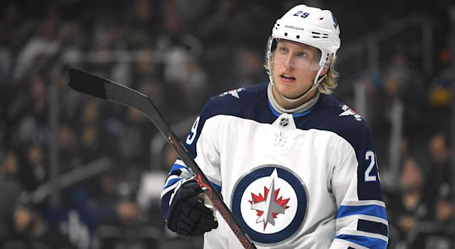 The Winnipeg Jets have inked Patrik Laine to a two-year deal. (Photo by Harry How/Getty Images)