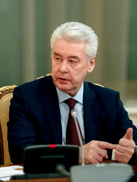 Sobyanin has become a frontline figure in the COVID-19 crisis as head of a task force for all of Russia