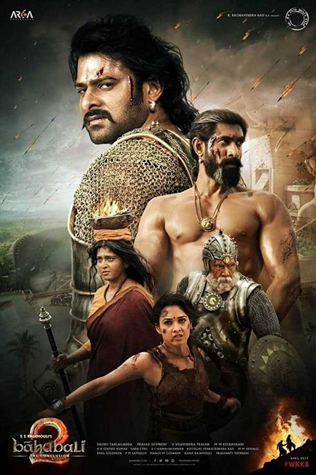 The second part was the most awaited by the audience as it solved a lot of knots and was bigger than the first one. USP- Its pure revenge for the right reasons and to take back what was taken away by a plot! This movie is still an all-time favourite of the audiences because of Prabhas and still stays a blockbuster we all loved, breaking records.