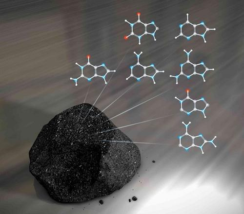 Carbonaceous chondrites are thought to be a potential source of early Earth's volatile elements — including hydrogen, nitrogen, and carbon — and possibly organic material.