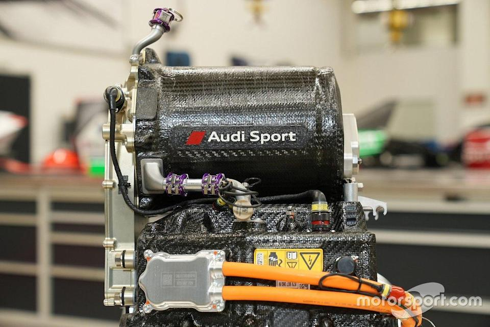 "Audi e-tron FE07, Audi MGU05<span class=""copyright"">Audi Communications Motorsport</span>"