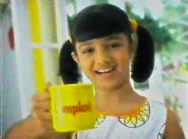Though not one from the industry, she was not completely a stranger to the idea of celebrity either. She had ventured into modelling as a child. One of her most played and remembered commercial was that of Complan in which she featured with Shahid Kapoor. Playing brother and sister, Shahid was the 'Complan boy' and Ayesha was the 'Complan girl'.