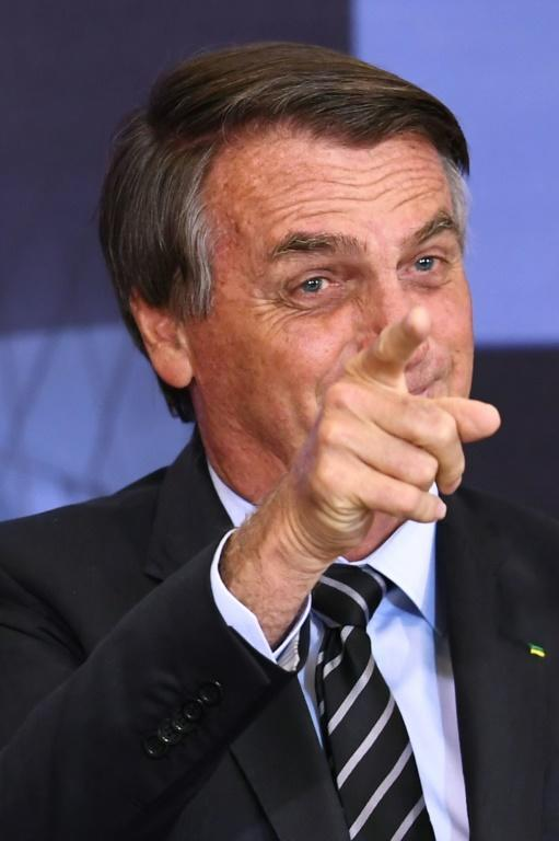 Brazilian President Jair Bolsonaro will travel to the UN General Assembly despite not being vaccinated (AFP/EVARISTO SA)