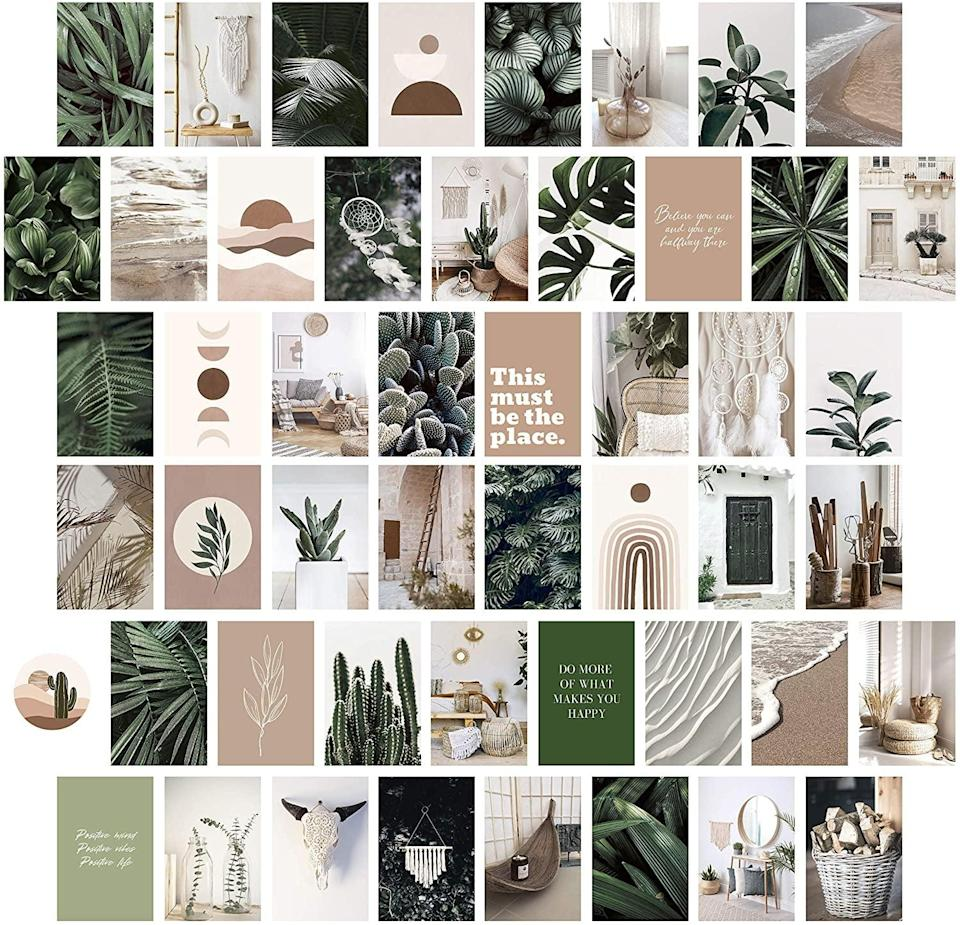 <p>This <span>Heather &amp; Willow Photo Collage Kit</span> ($20, originally $25) is an eye-catching piece that will wow any guest who comes over.</p>