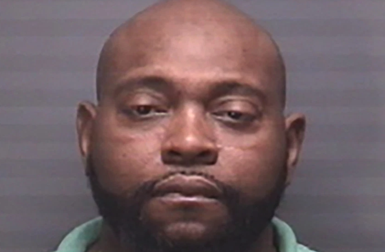 Michael Hatton was arrested after he allegedly pulled a gun on another man over the casting of Aretha Franklin's upcoming biopic. (Photo: Suffolk Police Department)