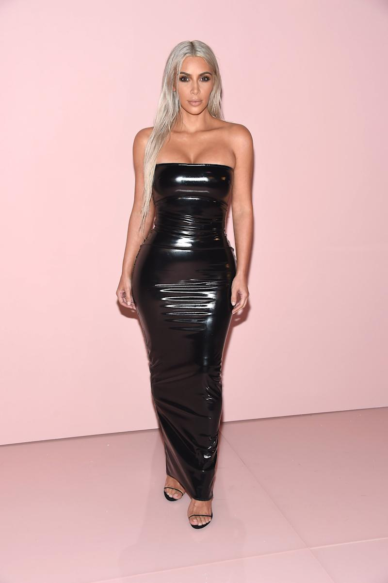 At the Tom Ford fashion show on Sept. 6. (Gary Gershoff via Getty Images)