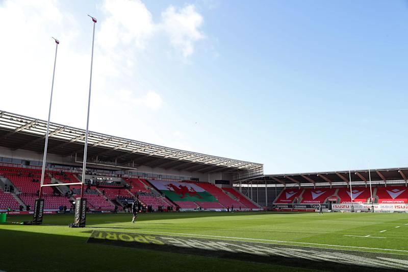 Wales host Scotland in the Six Nations at the Parc y Scarlets in Llanelli (Getty)