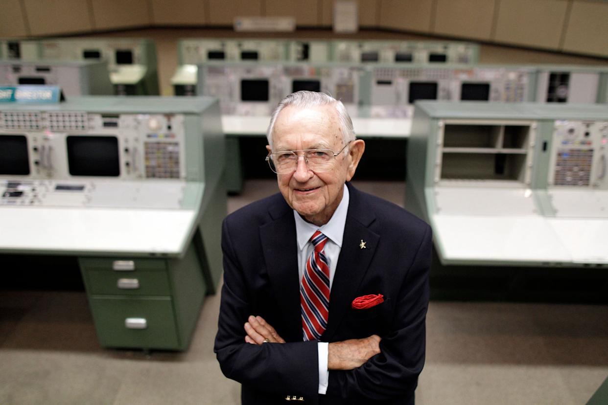 Chris Kraft, who created NASA's Mission Control and made split-second white-knuckle decisions from the first daring Mercury mission to the triumphant moon landings, died on July 22, 2019. He was 95.