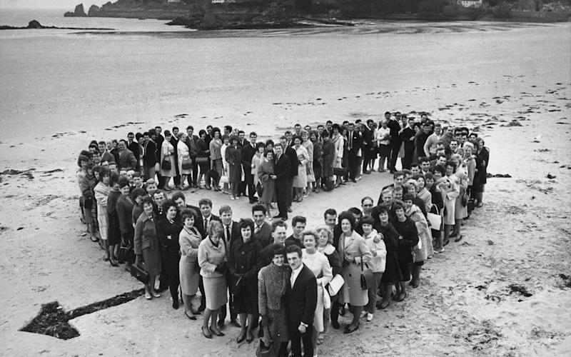 "The island of Jersey proved such a popular post-wedding spot in the Fifties that it became known as ""Honeymoon Island"