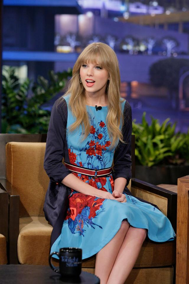 """At """"The Tonight Show With Jay Leno"""" on Feb. 20, 2012."""