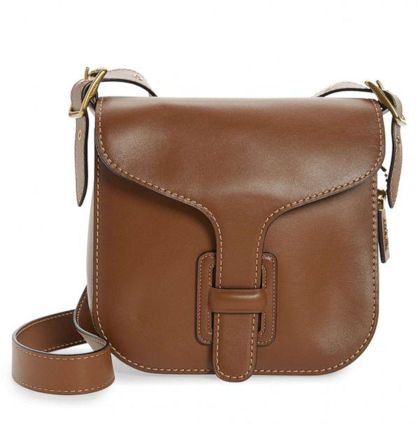 PHOTO: This Coach Leather Crossbody bag is is featured in Nordstrom's 2020 Anniversary Sale. (Nordstrom)