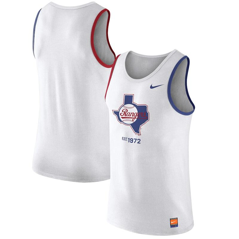 Rangers Cooperstown Collection Tank Top