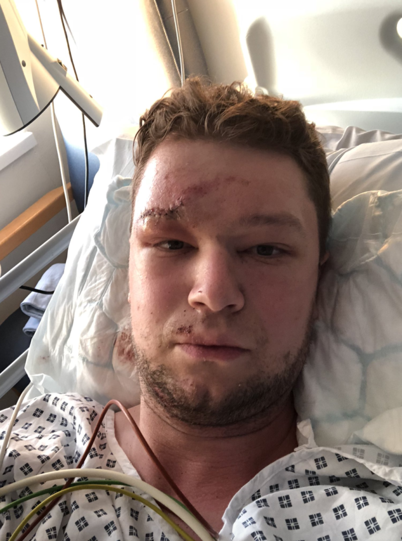 Sgt Dorman suffered severe injuries in the 2018 incident.
