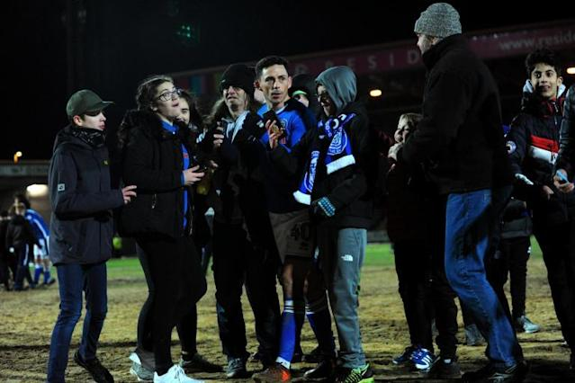 Rochdale may face probe over FA Cup pitch invasion after Millwall victory