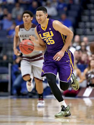 LSU freshman Ben Simmons (Photo by Andy Lyons/Getty Images)