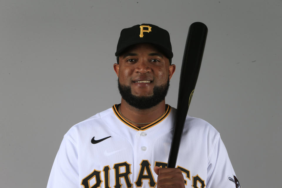 Socrates Brito of the Pittsburgh Pirates opts out of 2020 after brother dies from complications of COVID-19. (Photo by Brian Blanco/Getty Images)