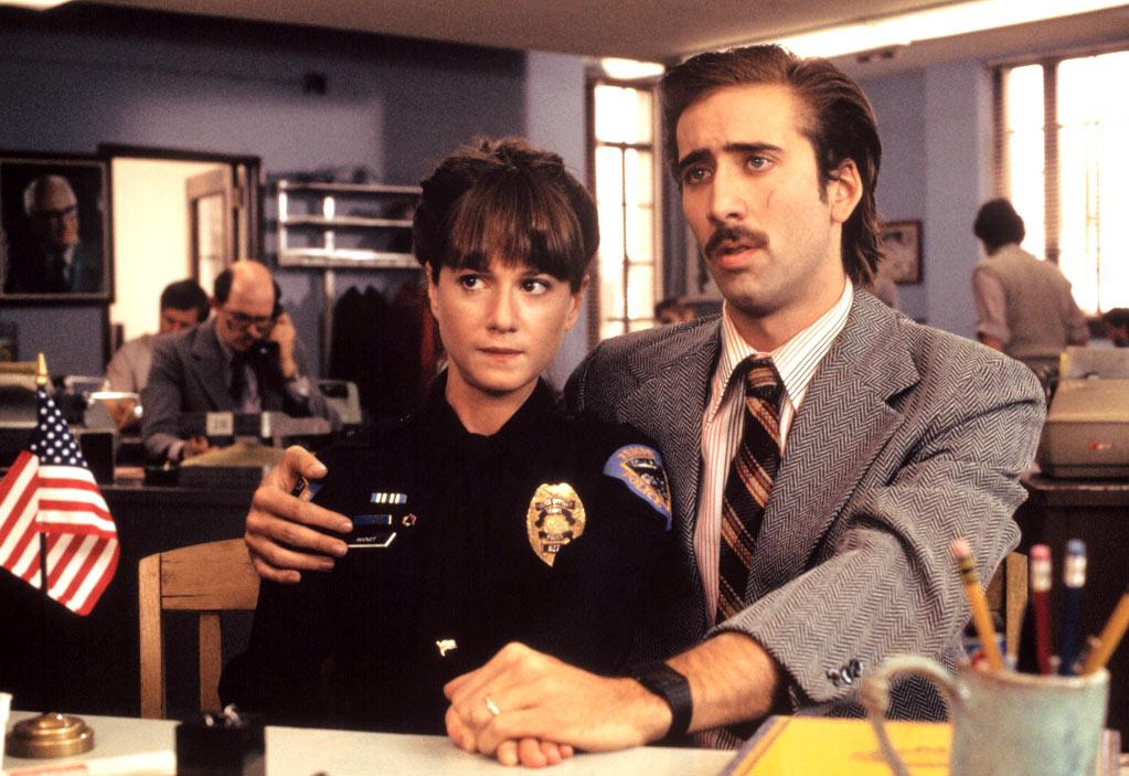 """<a href=""""http://movies.yahoo.com/movie/1800024145/info"""">Raising Arizona</a> (1987): One of the Coen brothers' earliest, most playful and visually inventive films features a deliriously nutso starring performance from Cage. Hi McDunnough is a loser and ex-con who seemingly can do no right, but he finds a way to make his wife Edwina (Holly Hunter) happy when he steals a baby for her from furniture tycoon Nathan Arizona, the father of quintuplets. Like """"Moonstruck,"""" """"Raising Arizona"""" allows Cage to tap into his unique brand of off-kilter, romantic goofiness. He's a grubby, lovable cartoon character."""