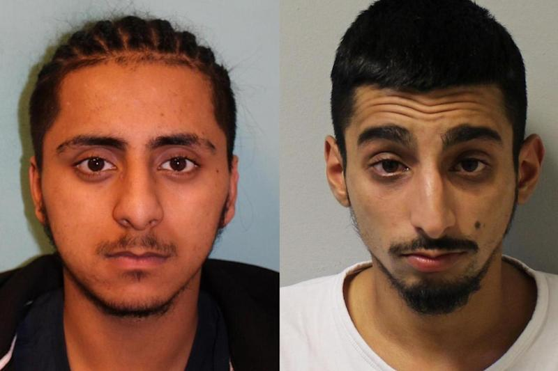 Guilty: Sufiyan Mahmood and Faisal Khan. (Met Police)