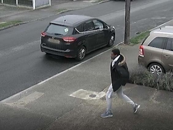 CCTV footage of Ong-a-Kwie getting in a Vauxhall Corsa on 1 March (Metropolitan Police)