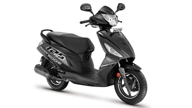 Hero launches Maestro Edge 125 Stealth edition at Rs. 73,000