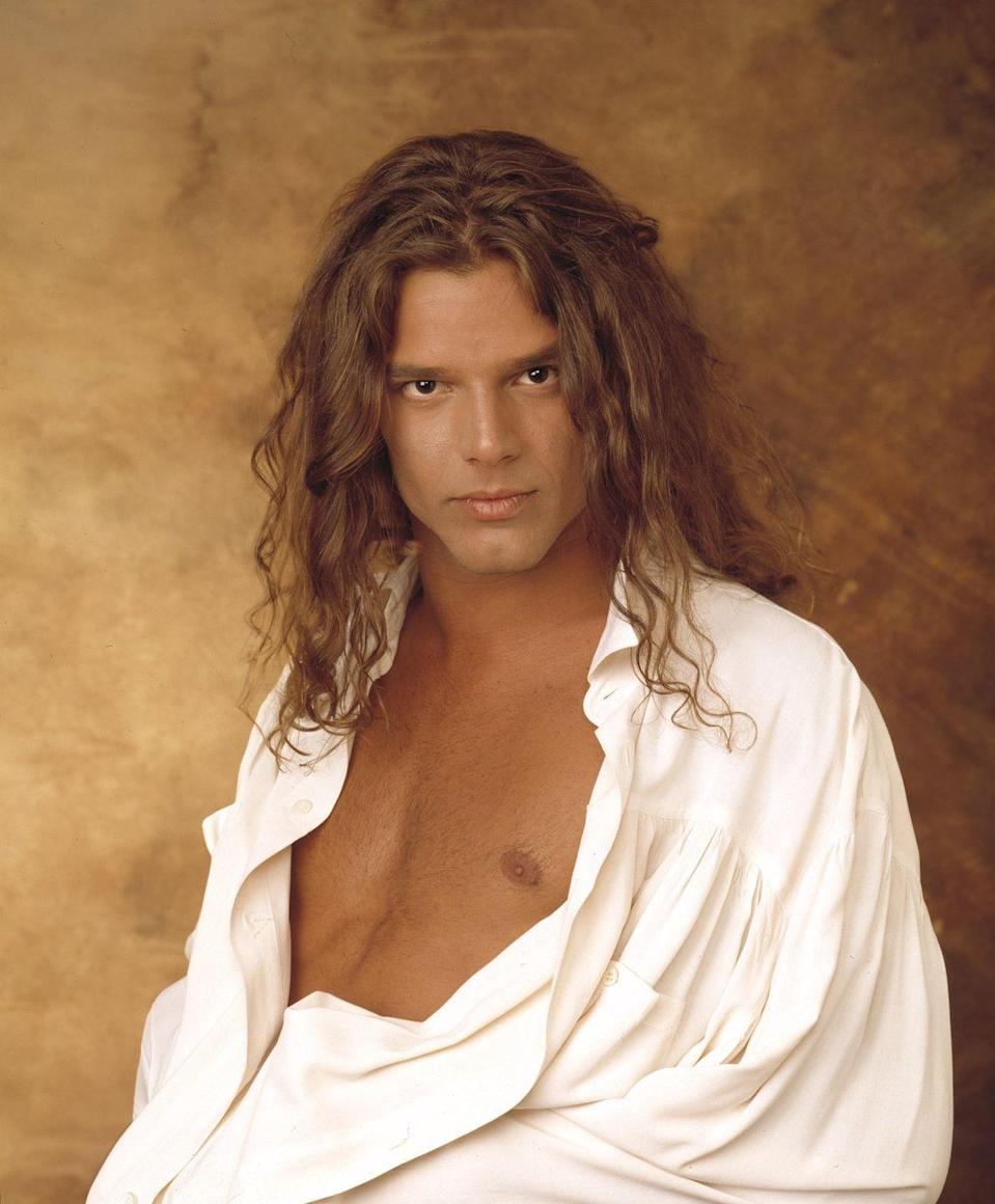 <p>Ricky was livin' the vida loca while steaming up TV screens as Miguel on <em>General Hospital</em>.</p>