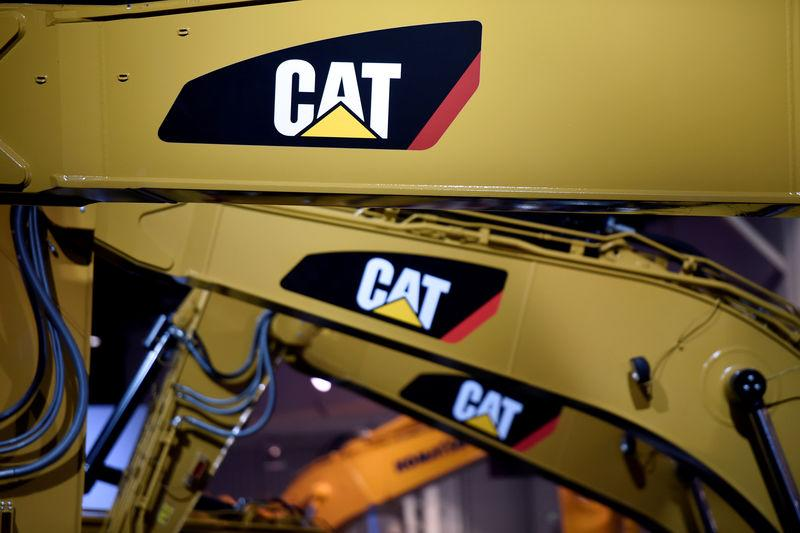 Caterpillar slips as higher costs dent margins at construction business