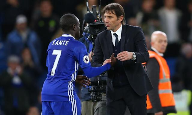 "<span class=""element-image__caption"">Antonio Conte has faith in the title-winning experience of players such as N'golo Kanté.</span> <span class=""element-image__credit"">Photograph: Catherine Ivill - AMA/Getty Images</span>"